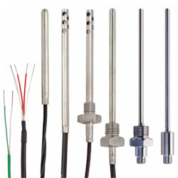 range of temperature sensors