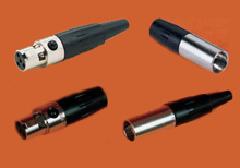 Miniature Connectors for Pt100 and Thermistor RTD Probes, Series