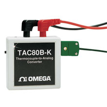 Thermocouple to Analogue Converter, Battery or AC Power, Models TAC80B-J, TAC80B-K, TAC80B-K | TAC80B Series