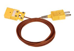Termočlánkové prodlužovací vedení zakončené konektory | Série TEC(*), REC(*) a GEC(*)