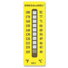 tl-10 Étiquettes de température | Série TL-8 et TL-10