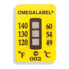 Non-Reversible OMEGALABEL® Temperature Labels TL-3 Range Series | TL-3