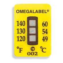 Non-Reversible OMEGALABEL™ Temperature LabelsTL-3 Range Series | TL-3