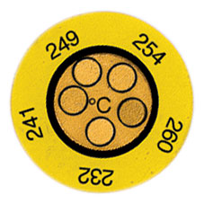 Non-Reversible temperature Labels | TL-C5 Series