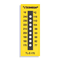 Non-Reversible Temperature Labels | TL-E Series