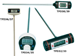 Digital Stem Thermometers | TPD30 Series Digital Thermometers