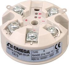 Termokoblertransmittere monteret i hoved | TX13