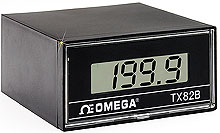 1/8 DIN Two-Wire, Loop-Powered Process Indicator with Liquid Crystal Display   TX82B