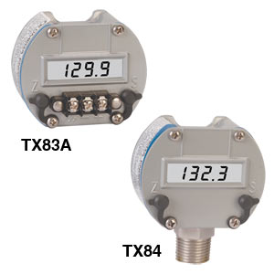 Two-Wire, Process-Loop Indicator in NEMA-4X Housing | TX83A and TX84